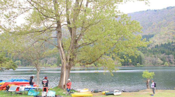 菜の花畑に囲まれた幻想的な湖で、カヌーとSUP体験は如何でしょうか!